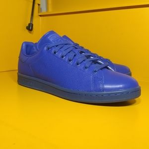 NEW Adidas Stan Smith Adicolor Blue Size 10 Men's